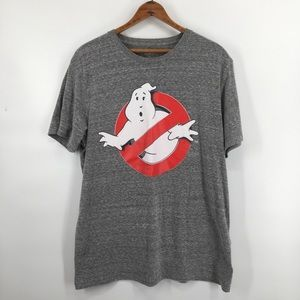 Old Navy Ghostbusters Gray Oversized Tee Shirt